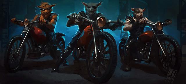 bikers mice mars