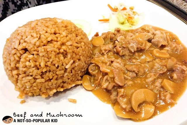 Beef and Mushroom of Rice Taft Avenue