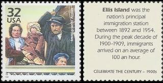 Ellis Island Immigrants Arrive