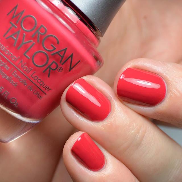 tomato red creme nail polish