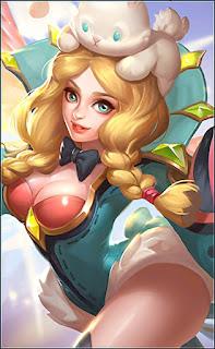 Rafaela Flower Fairy Heroes Support of Skins V4