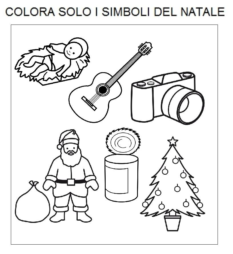I Simboli Del Natale.Comunicaazione Individua I Simboli Del Natale