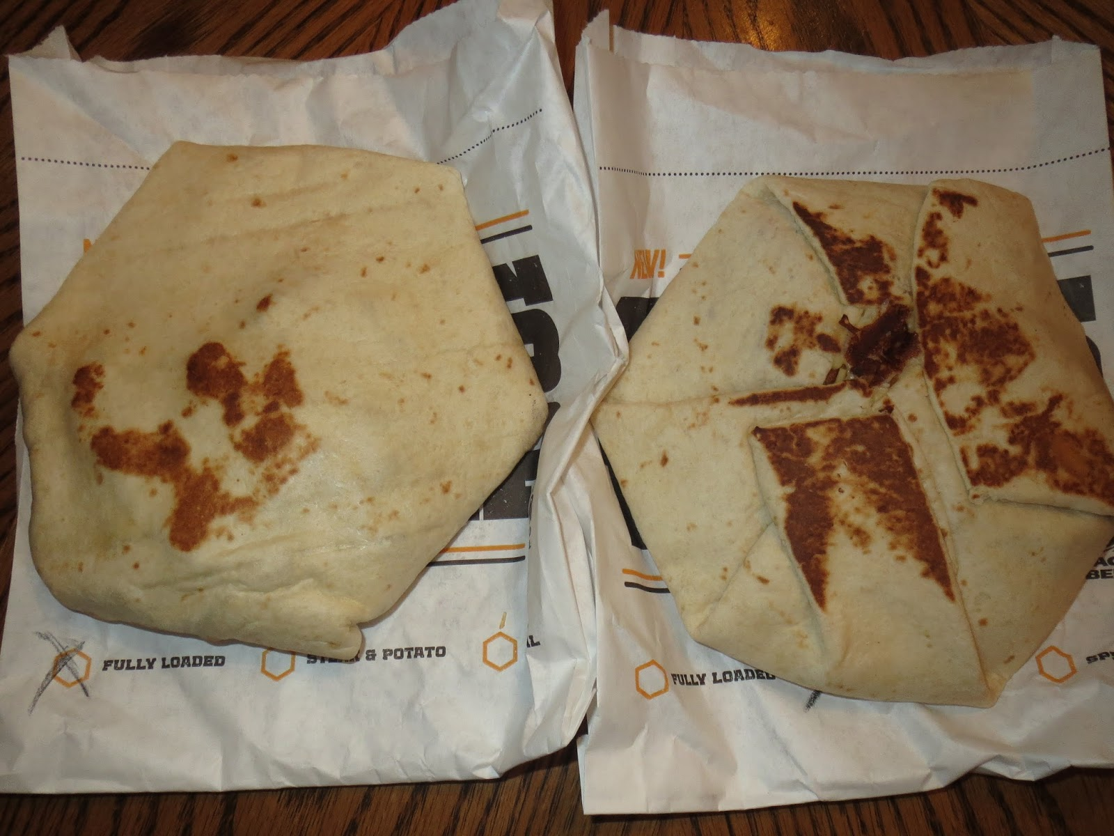 Taco Bell Nacho Wrap The New Taco Bell Boss...