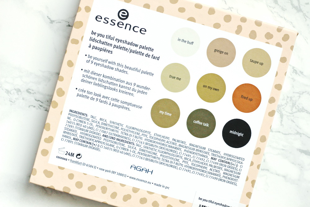 essence eyeshadow palette