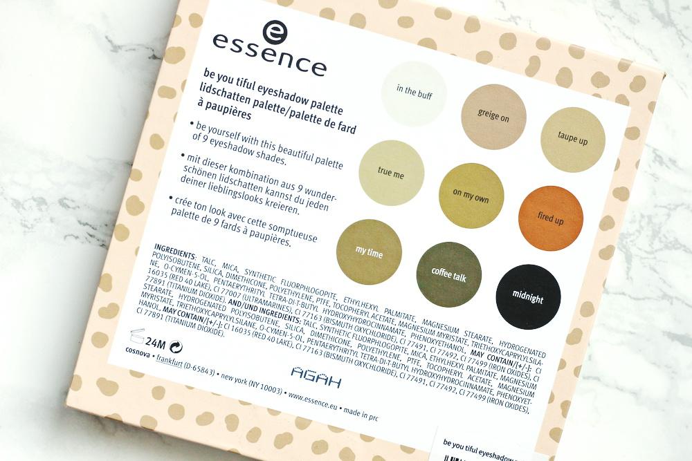 essence eyeshadow palette