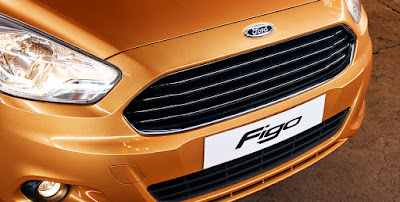 New Ford Figo 2016 Headlight & front bumper