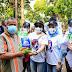 DPP Srikandi IMDI Membagikan Sembako Kepada Para Pemulung di Pinggiran Rel Kereta