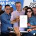 Em Nova Fátima Governador Rui Costa entrega obras de pavimentação, iluminação e reforma de escola