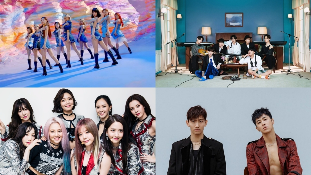 TWICE, BTS, SNSD and TVXQ Enter the Top 10 List of Favorite Idols in Japan