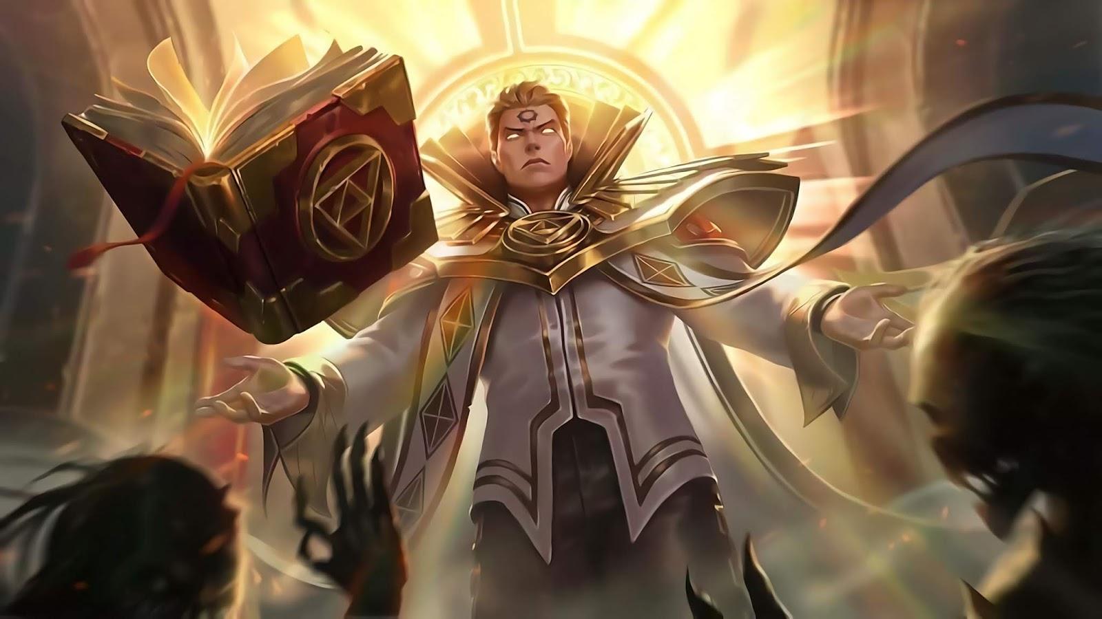 Wallpaper Estes Holy Priest Skin Mobile Legends HD for PC