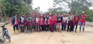 Winarsih Apresiasi Kinerja Polisi dan Warga Suoh Serta Pihak TNBBS Melakukan Penggiringan Kawanan Gajah Liar