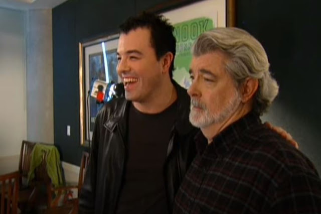 seth macfarlane interview george lucas