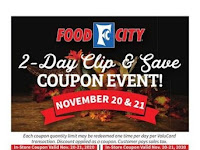 Food City Weekly Sale November 18 - 24, 2020