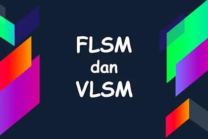Menghitung Subnetting Metode FLSM dan VLSM