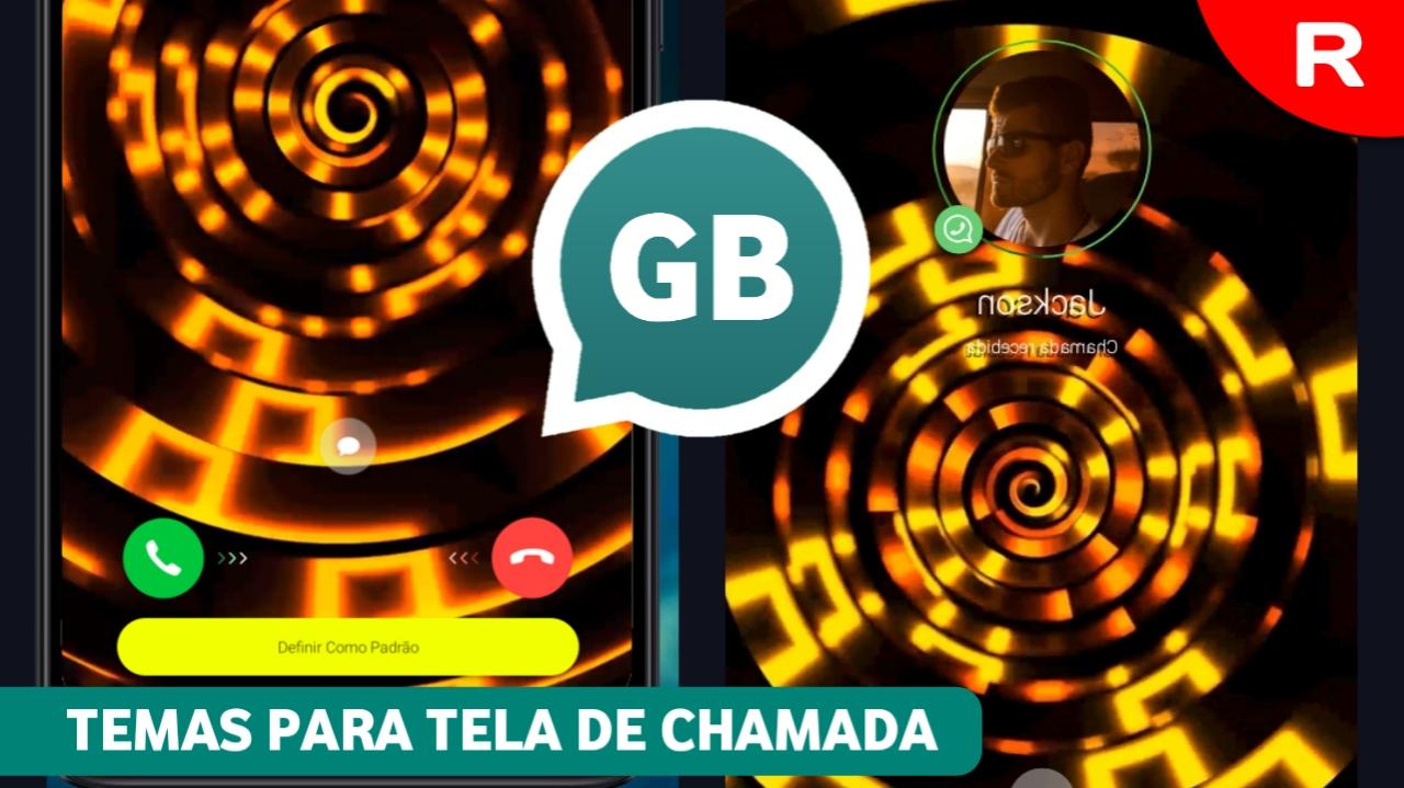 Gbwhatsapp APK Temas para tela de chamada
