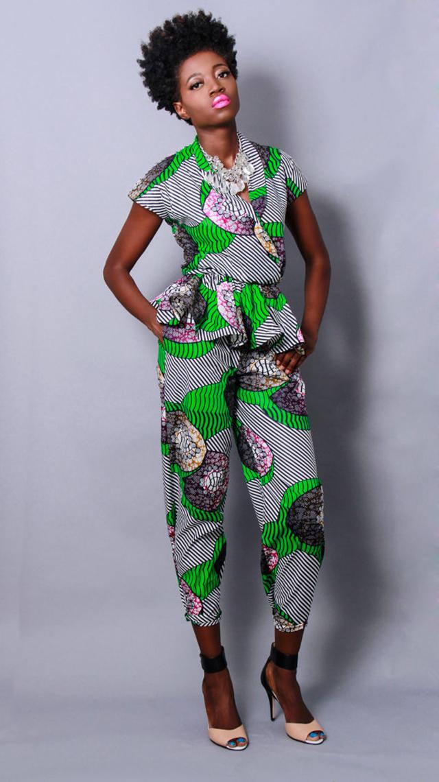 Demesticks  NY African print  style ciaafrique ,african print dresses ,african fashion, african dress styles,kitenge designs , african styles, african style dresses , african style, african dresses See more on ciaafrique.com