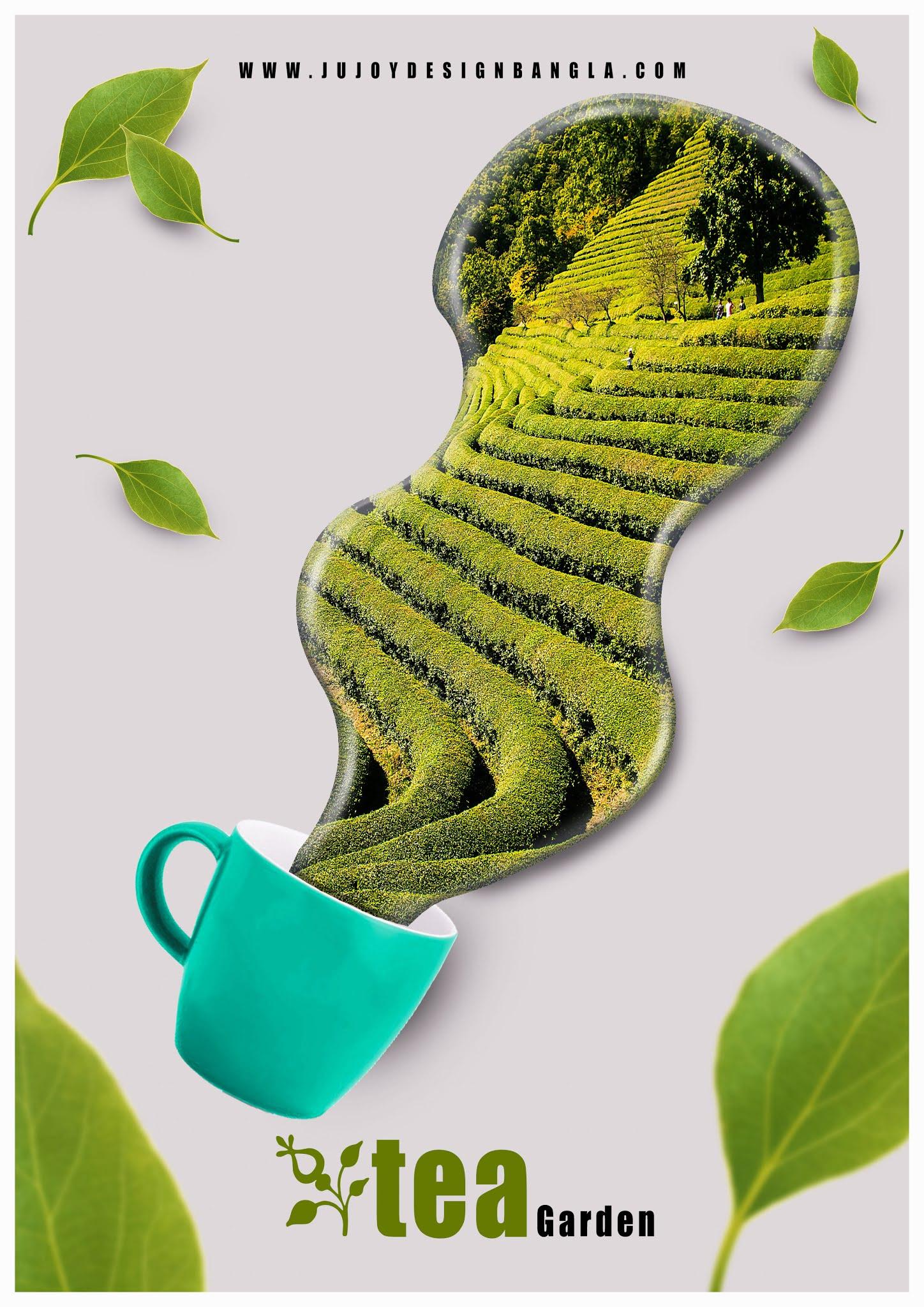 Tea Garden Flyer