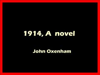 1914,  novel by John Oxenham PDF book