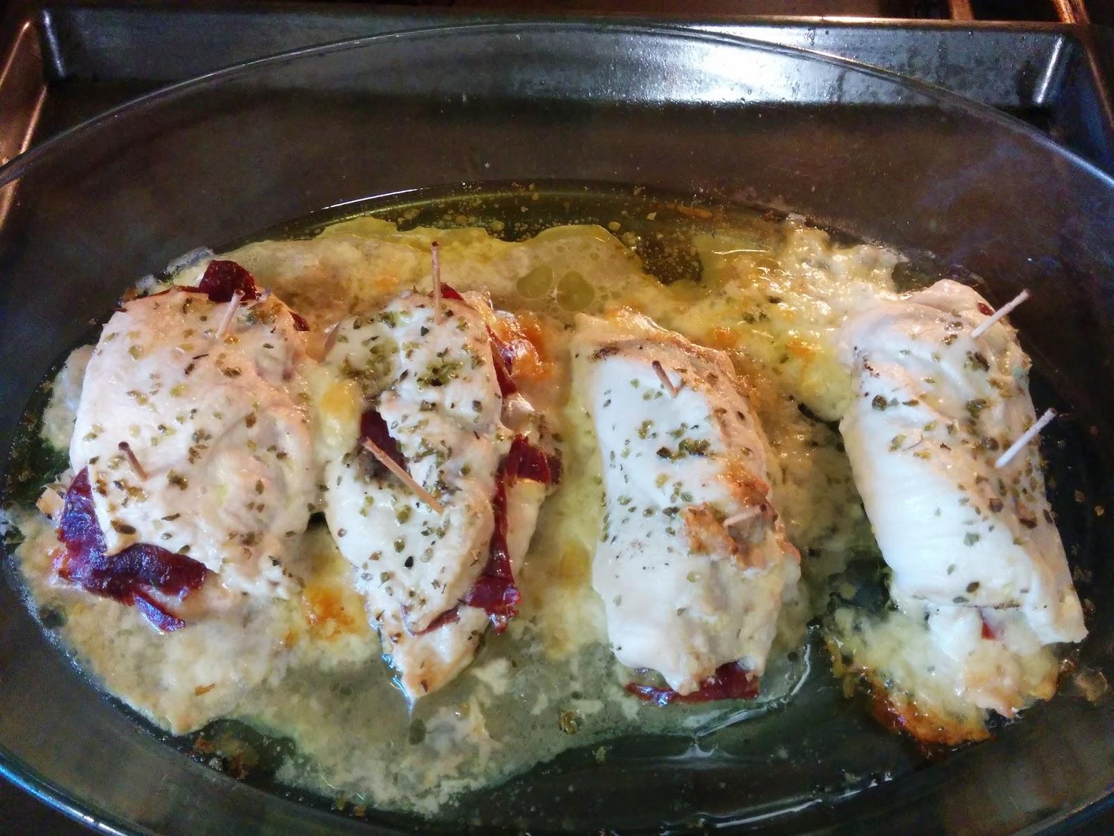 La nutricin en una pechuga de pollo al horno sin piel