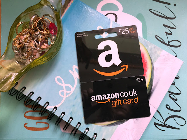 win a £25 amazon voucher