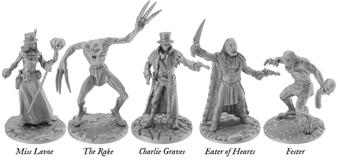Wargame News and Terrain: Gang Fight Games: Western Horror