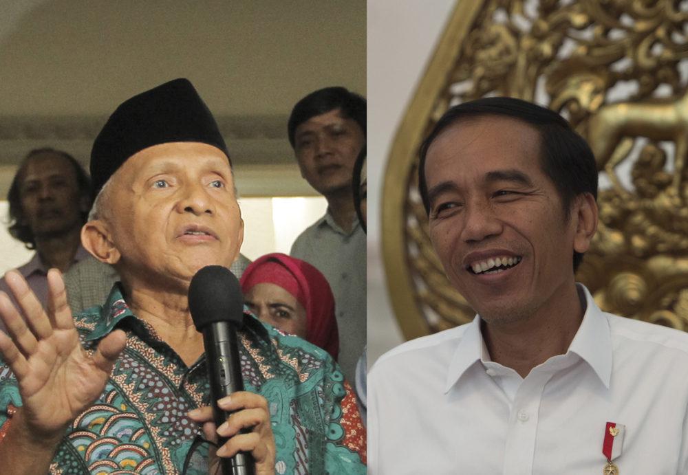 "Jika Sampai Jokowi Jadi Presiden Lagi, Amien Rais Ajak Seluruh Rakyat Ucapkan ""Innalillahi"""
