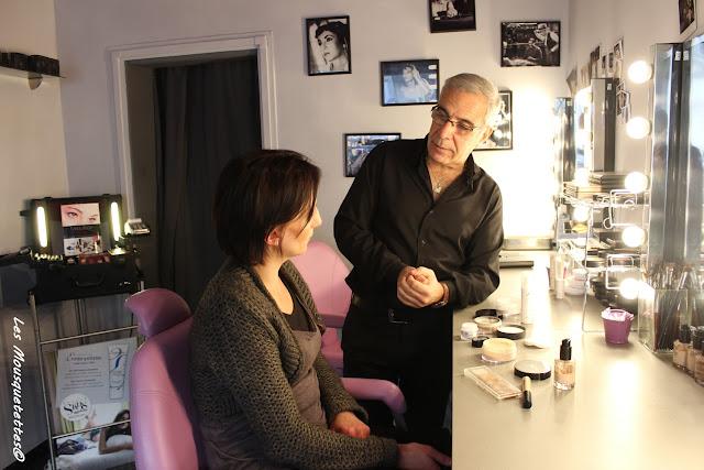 La Loge Maquillage - Georges Demichelis - Les Mousquetettes©