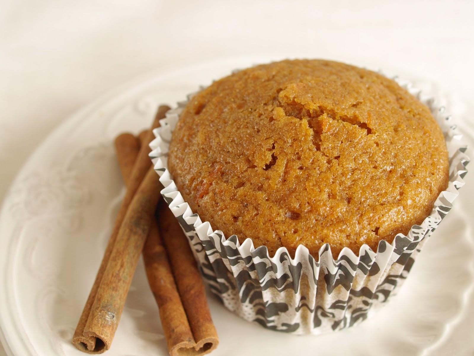 La guinda del pastel: Cupcakes de calabaza y especias
