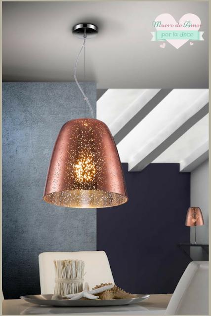 Decoracion en color cobre-Lamparas-6