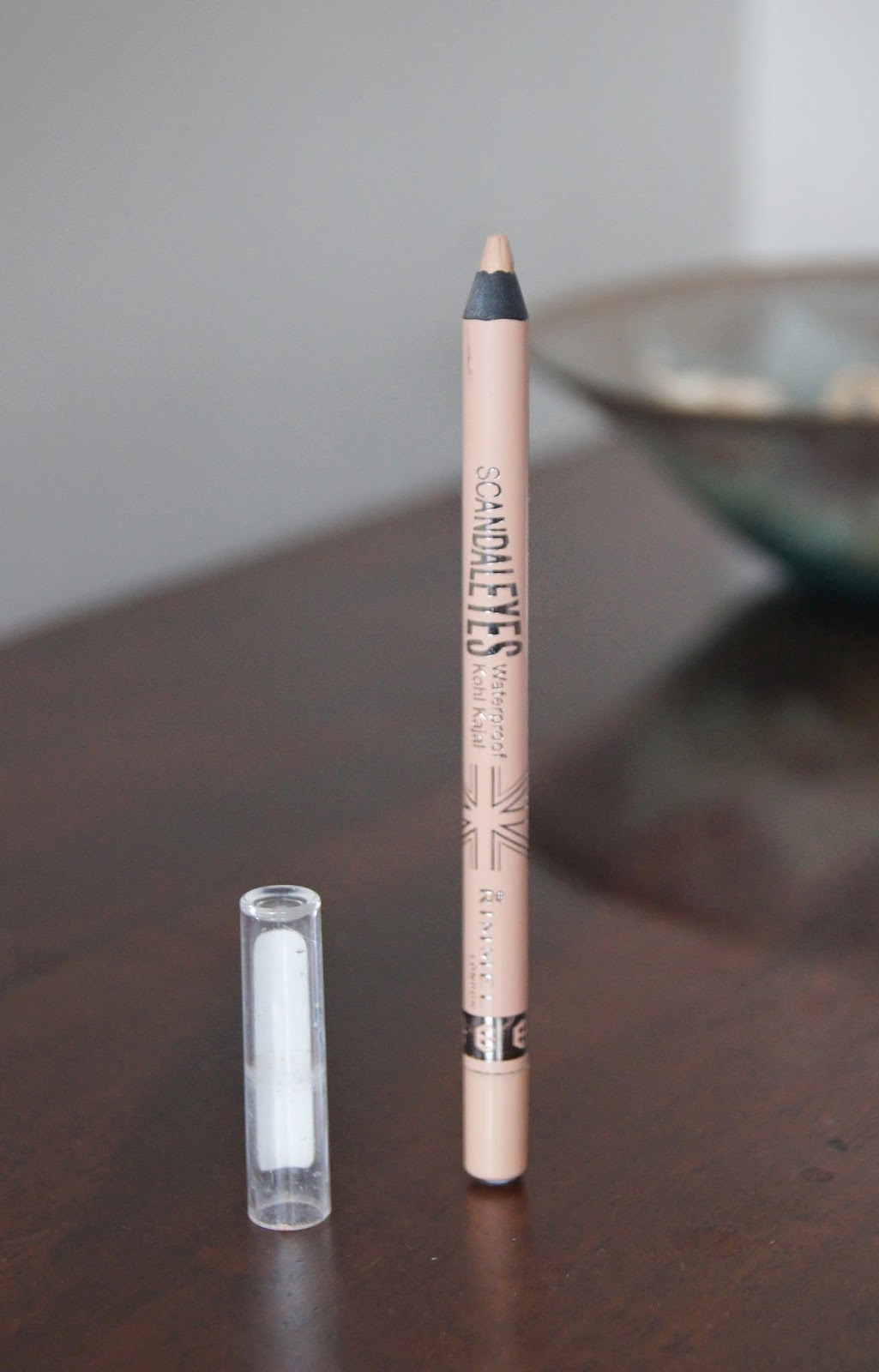 rimmel nude scandaleyes waterproof kohl kajal eyeliner review