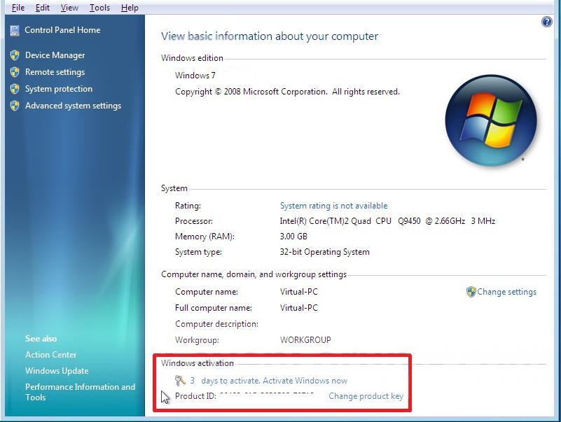 Let me fix: Microsoft Windows 7 OEM Reactivation