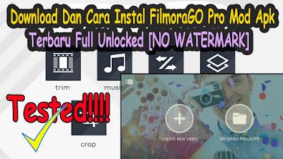 Download, FilmoraGO Pro, Terbaru, Full, Unlocked, No Watermark, tanpa watermark, android, mod apk, apk mod,