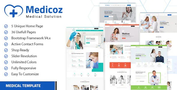 Best Clinic & Hospital HTML Template