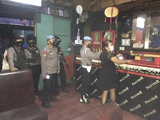 Amankan Pelaku Narkoba, Propam Polres Pelabuhan Makassar Gelar Razia di THM, Hotel dan Wisma