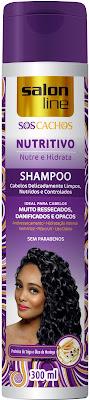 shampoo salon line cachos