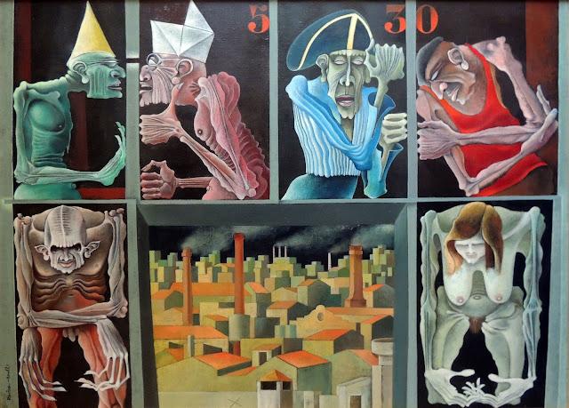 Josep Maria Rovira-Brull Itaca cuadro surrealista