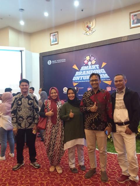 BI Lampung menyelenggarakan Kegiatan Smart Branding Melalui Teknologi Internet dan Sosial Media serta Coaching Clinic On Boarding UMKM