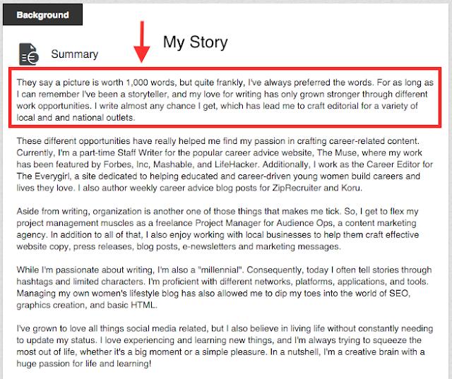 How To Write A Great LinkedIn Summary