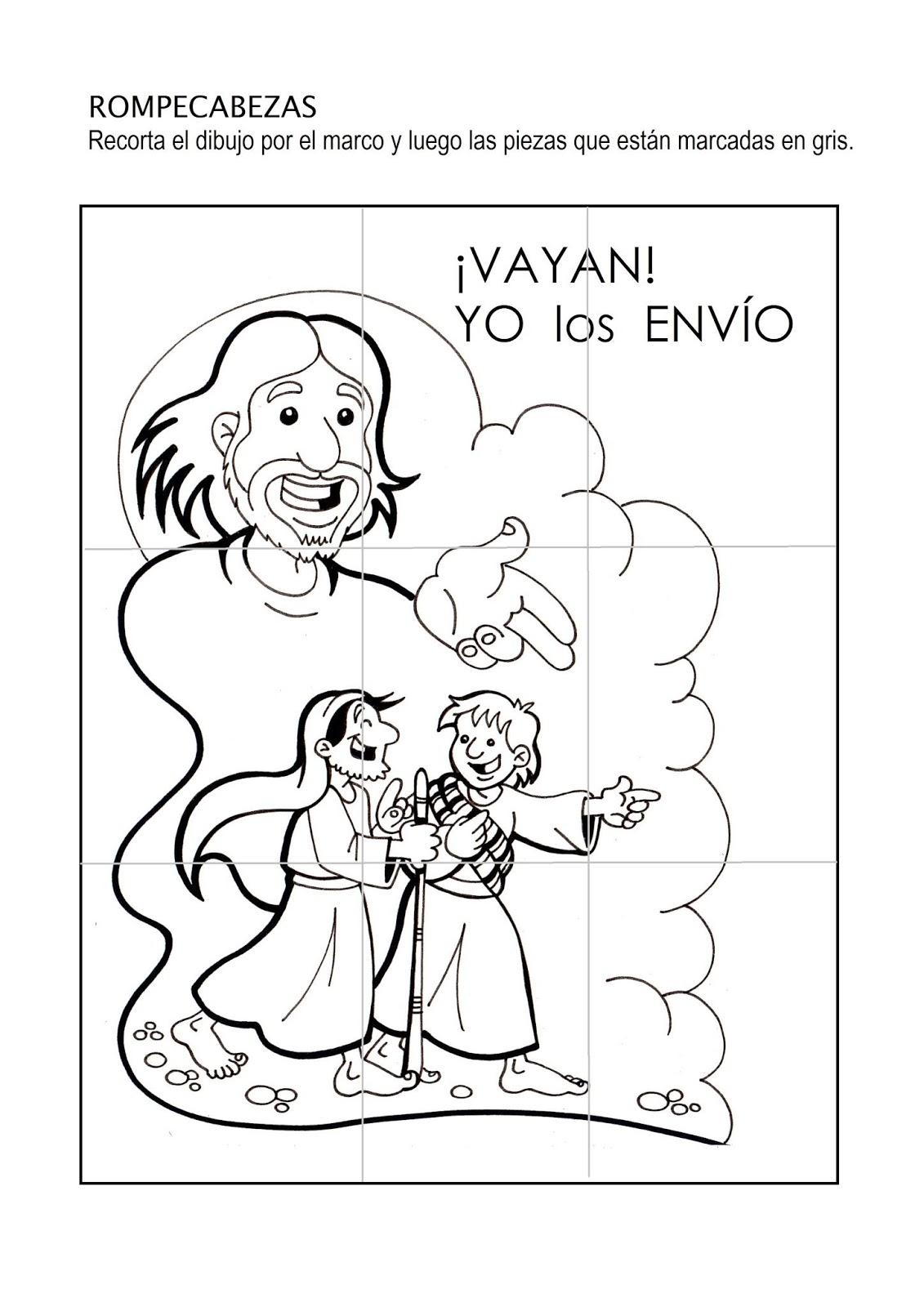 El Rincón De Las Melli Yo Los Envío Rompecabezas Y Dibujo