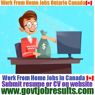 Latest Work from jobs Ontario Canada 2021-22
