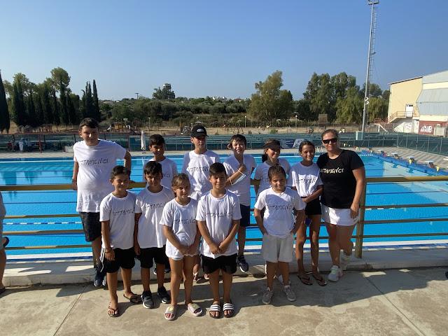 """Νέες κολυμβητικές επιτυχίες από τους """"Ιπτάμενους"""" της Αργολίδας"""