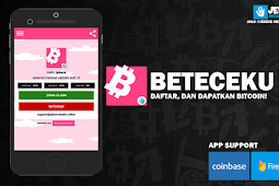 Cara mendapatkan ribuan satoshi dalam 1 hari di aplikasi Beteceku, Gratis!! tanpa deposit