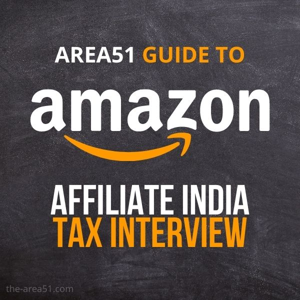Amazon Affiliate Tax Tutorial