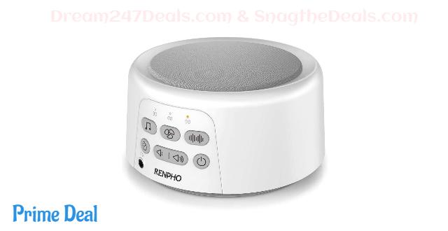 Renpho White Noise Sleep Machine 40% OFF