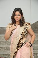 Shilpa Chakravarthy in Lovely Designer Pink Saree with Cat Print Pallu 033.JPG