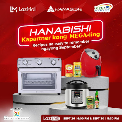 Learn Easy-to-Prepare Dishes in Hanabishi & Mega Prime's LazLive  Cooking Demos on Sept. 26 & 30