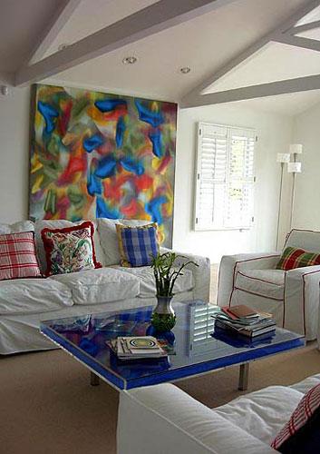 Contemporary Living Room Pop Art