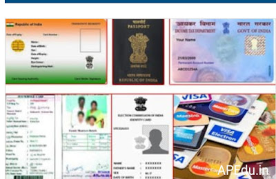 Explanation on how to recover lost identity cards