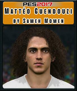 PES 2017 Faces Mattéo Guendouzi by Sameh Momen