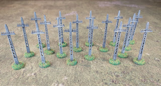 15mm concrete telegraph poles